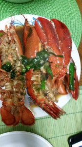 Simple but appetizing way of cooking lobster ;)